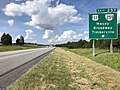 2019-06-06 16 24 02 View north along Interstate 81 at Exit 257 (U.S. Route 11, Virginia State Route 259, Mauzy, Broadway, Timberville) in Mauzy, Rockingham County, Virginia.jpg