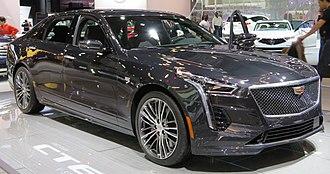 Cadillac CT6 - Cadillac CT6-V front