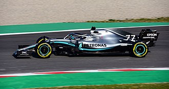 2019 Formula One World Championship - Mercedes are the reigning World Constructors' Champion and current championship leaders; pictured is the 2019 F1 W10 EQ Power+.