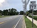 2020-06-22 17 07 39 View west along Maryland State Route 177 (Mountain Road) just west of Maryland State Route 607 (Hog Neck Road-Magothy Bridge Road) on the edge of Pasadena and Lake Shore in Anne Arundel County, Maryland.jpg