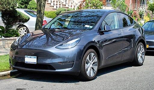 2020 Tesla Model Y, front 8.1.20