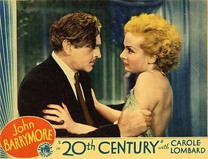 Twentieth Century (film) - Lobby card for Twentieth Century