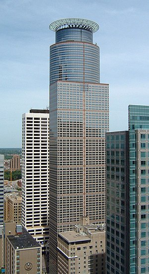Capella Tower - The building as viewed from the Foshay Tower