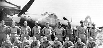 "24th Fighter Squadron - Bell P-39Q-20-BE Airacobra 44-3528 ""Miss Izzy"", France Field, Panama with squadron personnel, 1944"