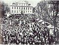 250 Jahre Marienwallfahrt nach Werl, 1911 vor dem Amtsgericht.jpg