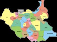 Sudan del Sud-Suddivisioni storiche e amministrative-28 States of South Sudan