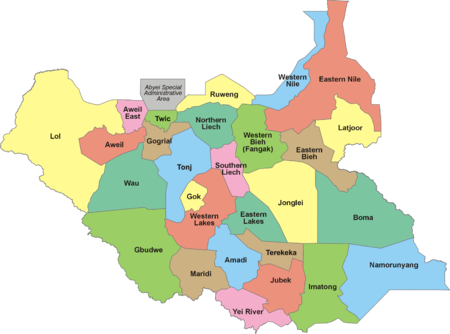 South Sudan - Wikipedia