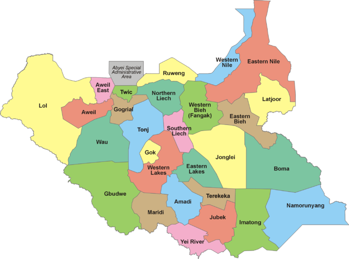 28 States of South Sudan.png