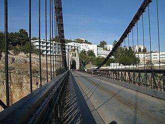 Sidi M'Cid Bridge - Image: 2 Pont de Sidi M'Cid