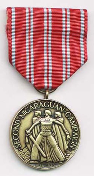 Second Nicaraguan Campaign Medal - Second Nicaraguan Campaign Medal
