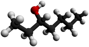 3-Heptanol - Image: 3 Heptanol 3D balls by AHRLS 2012