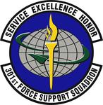 301 Force Support Sq emblem.png