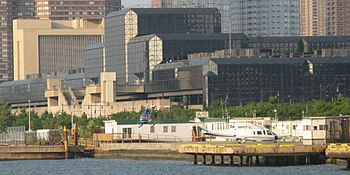 English: 30th Street Heliport in New York City...