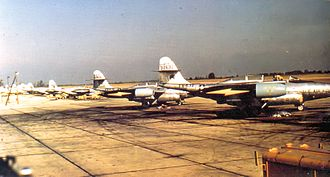 326th Aeronautical Systems Wing - 321st FIS F-89Js at Paine Field in 1956