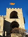 347 Torres dels Serrans (València), cara sud, torre de llevant.jpg