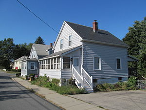 National Register of Historic Places listings in Ipswich, Massachusetts - Image: 39 Brownville, Ipswich MA