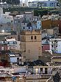461 Torre de la Puríssima, des del mirador al peu de la Suda (Tortosa).JPG
