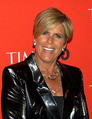 Suze Orman - Orman at the TIME 100 Gala, May 4, 2010.