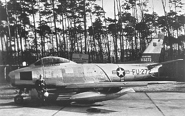 File:525th Fighter-Interceptor Squadron North American F-86F Sabre 51-13272.jpg  - Wikimedia Commons