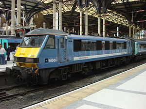 Roger Ford - 90006 at Liverpool Street
