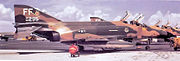 94th Tactical Fighter Squadron F-4Es MacDill AFB 66-0295 Aug 1972