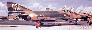94th Tactical Fighter Squadron F-4Es MacDill AFB 66-0295 Aug 1972.jpg