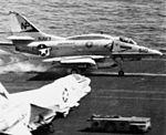A-4F VA-55 landing on USS Hancock (CVA-19) c1970.jpg