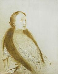A.M.L. Bonger-van der Linden. Eerste echtgenote van de verzamelaar André Bonger