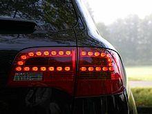 KFZ-Rückleuchte mit LED-Technik
