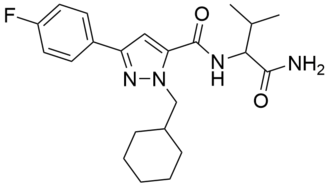 AB-CHFUPYCA - Image: AB CHFUPYCA chemical structure