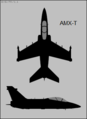 AMX-T two-view silhouette.png