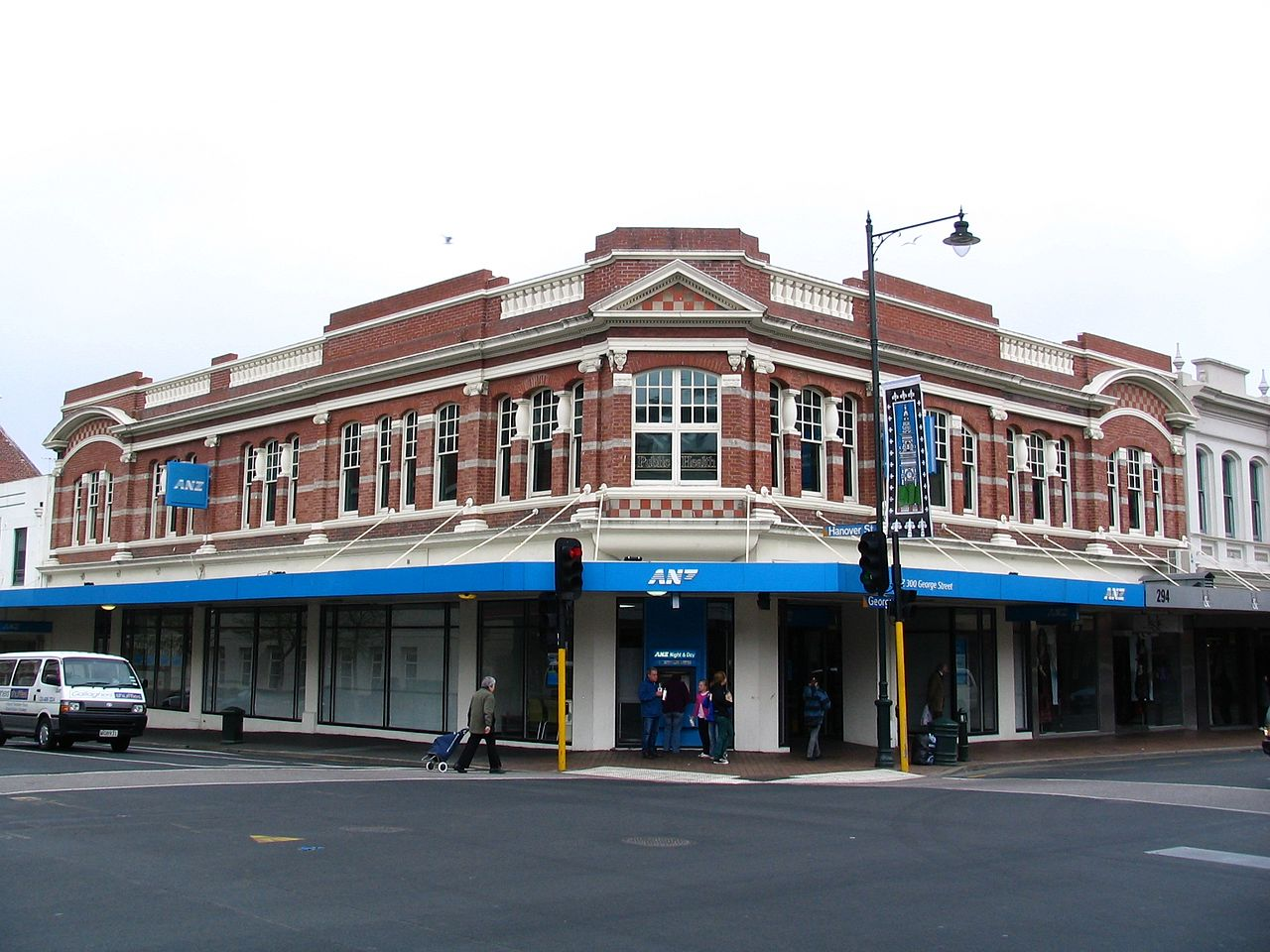 file anz building george and hanover sts dunedin nz jpg