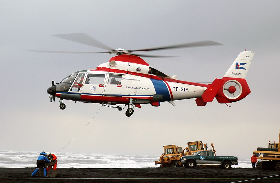 AS-365N Dauphin 2 of The Iceland Coast Guard.JPEG