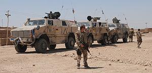 ATF Dingo - Image: ATF Dingo in German service (Afghanistan)