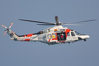 Maritime Safety and Rescue Society - A Maritime Security and Rescue Society AW139SAR rescue helicopter