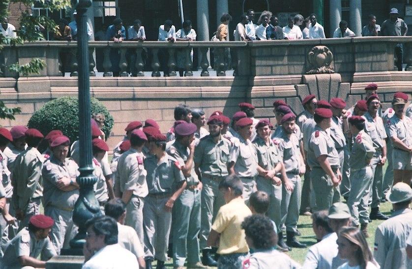 AWB Rally, Church Square, Pretoria