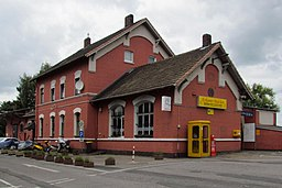 Bahnstraße in Rommerskirchen