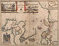 A Map of the North Pole and the Parts Adioining, Oxon, 1680.jpg