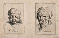 A boy weeping (left) and a man weeping (right). Etching by B Wellcome V0009396.jpg