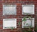 A converted Wesleyan Chapel - memorial stones - geograph.org.uk - 1077723.jpg