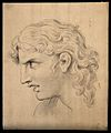 A face expressing ardent attention. Drawing, c. 1794. Wellcome V0009215.jpg