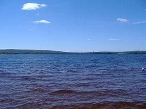 Burlington, Maine - A lake in Burlington