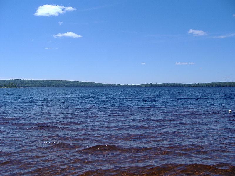 File:A lake in Burlington, Maine.jpg