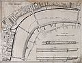 A plan of the Thames Embankment, from Blackfriars Bridge to Wellcome V0024379.jpg