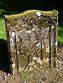 A symbolic gravestone in Colmonell Parish Churchyard - geograph.org.uk - 1502018.jpg
