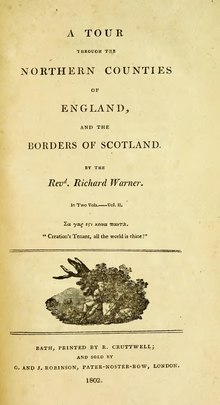 A tour through the northern counties of England, and the borders of Scotland - Volume II.djvu