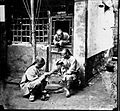 A travelling chiropodist operating upon a corn Wellcome L0018862.jpg