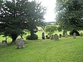 A verdant churchyard at St Peter, Easthope - geograph.org.uk - 1447537.jpg