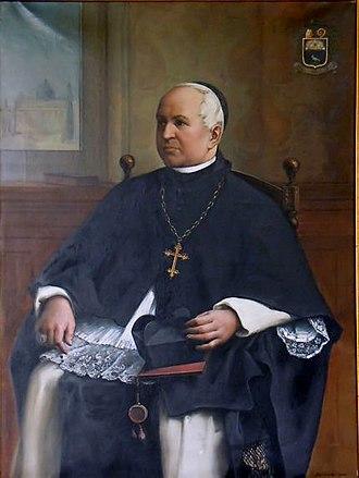 Henricus Smeulders - portrait inside Bornem Abbey