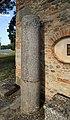 Abbazia di farneta, esterno, colonne in granito orientale dal distrutto chiostro, di spoglio da un edificio romano della zona, 01.jpg